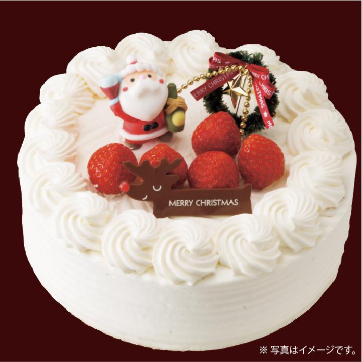 12.22(土) 13:00〜 [クリスマスケーキ作り体験]