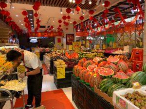 パンの技術者として、中国  杭州市に来ています。